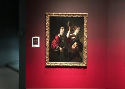 Caravaggisten zaalteksten